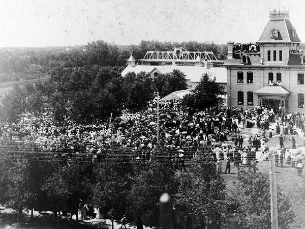 Queen Victoria's Diamond Jubilee at Government House, 1897