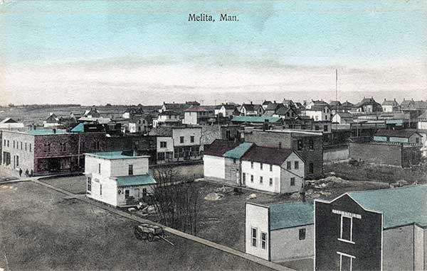 Postcard view of Melita