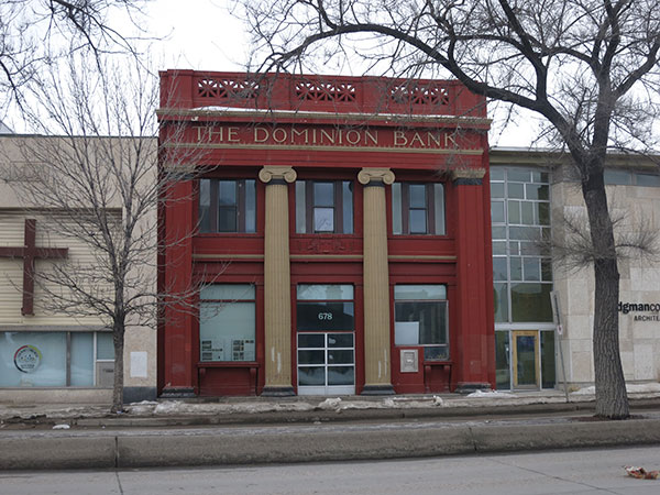 The former Dominion Bank Building