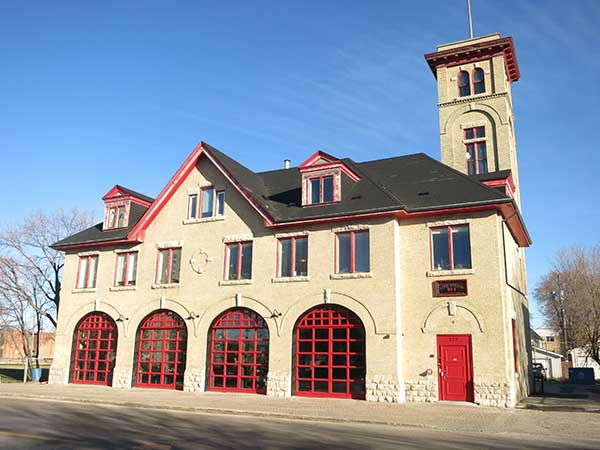 The former Fire Hall No. 8 Building